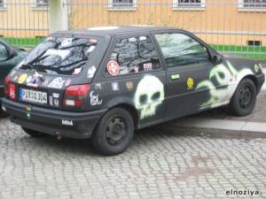 coche tunnig punk