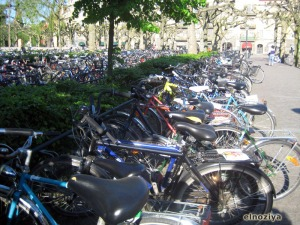 Parking de bicis de Lund
