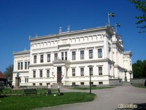 Edificio principal de la universidad de Lund