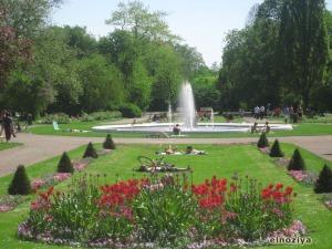 Bonito parque de Lund