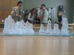 Tablero de ajedrez en la universidad de Lund