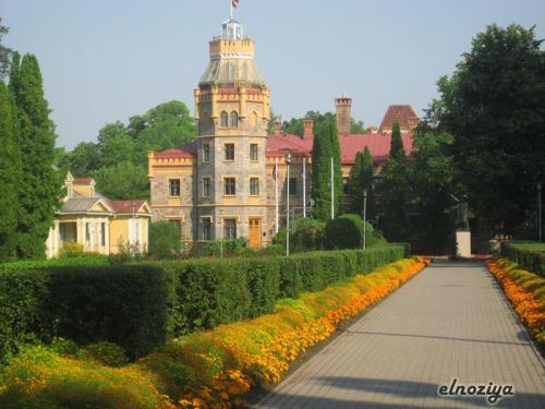 El castillo 'nuevo' en Sigulda.