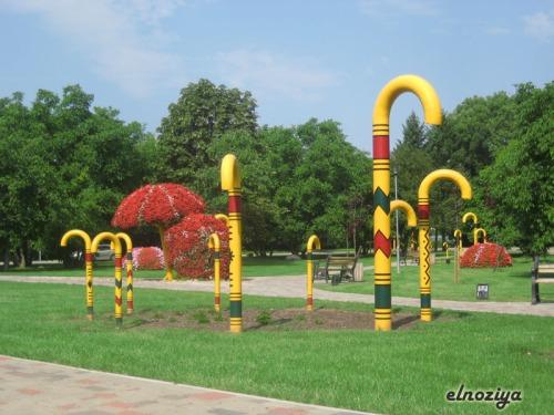 Merece la pena dar una vuelta por Sigulda y ver algunos de los parques