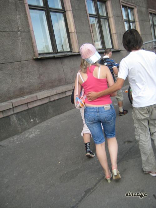 En Riga el buen gusto brilla por su ausencia, increibles vestimentas...
