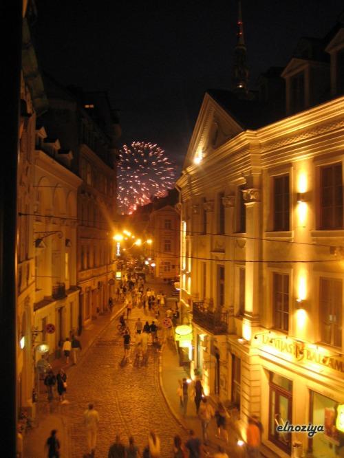 Bonita foto tomada por Desty desde el hostel.
