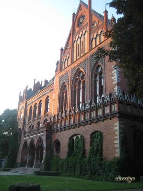 Foto de algún edificio monumental de Riga