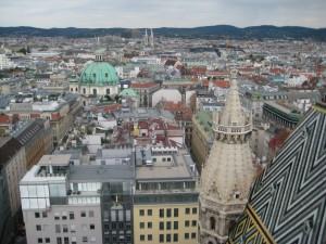 Esto es lo que se ve desde las ventanucas de la torre de la catedral una vez has subido las infinitas escaleras