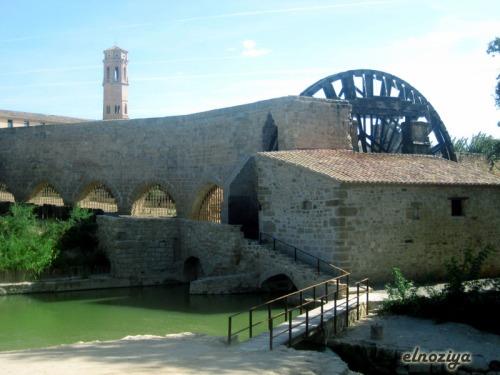 Vista desde el Ebro del Monasterio de Piedra.