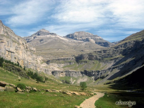 Circo glaciar del valle de Ordesa