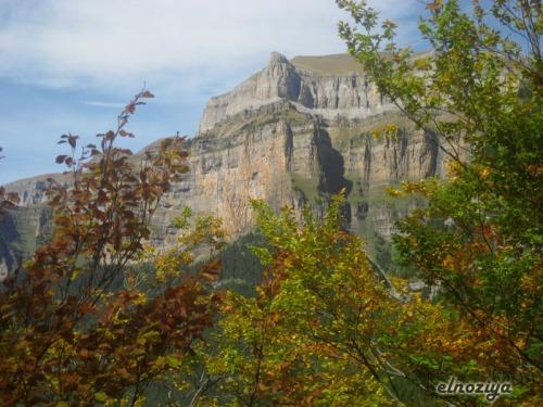 Detalle de una de las laderas que rodean el valle de Ordesa