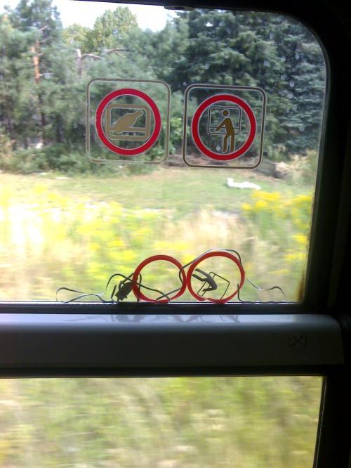Imaginaos el calor que podia hacer en el vagón.