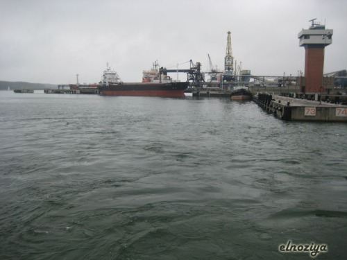 La pesca está prohibida, ya que el golfo está muy contaminado, por qué será...