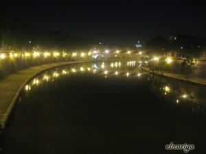 Roma también tiene vistas, y río, claro.