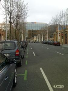 ¿Calle que acaba en un edificio?